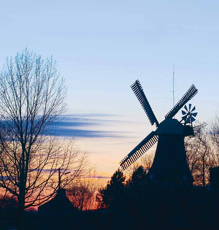 Early öko: Die Reitbrooker Mühle, erbaut 1870, mahlte 1939 zuletzt mit Windkraft. Ein berühmter Hamburger wurde hier geboren