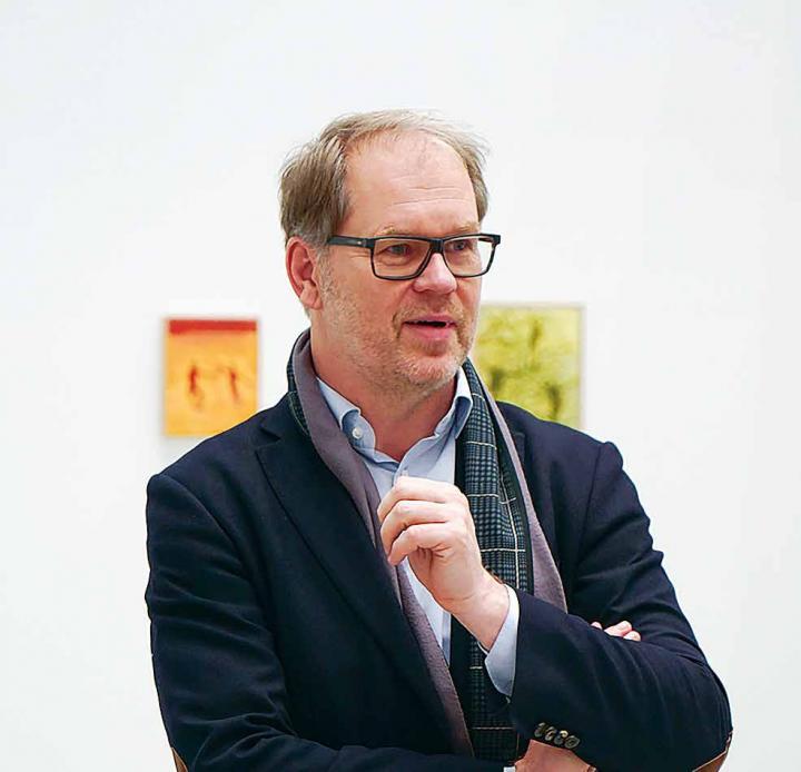 Hochschule für Fantasie, Vorstellungskraft und Kreativität seit nun 251 Jahren: Prof. Martin Köttering ist seit 2002 Chef der HFBK