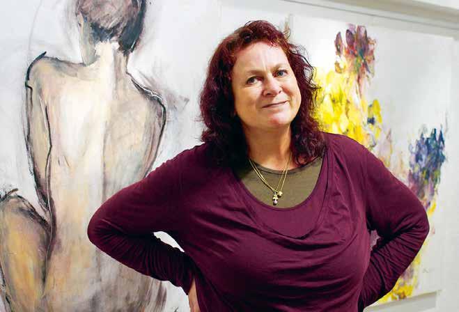 Mitten in Eimsbüttel zeigen Künstler aus aller Welt ihre Werke in der Souterrain-Galerie von Marion Zimmermann